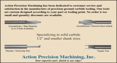 Custom Carbide Tooling
